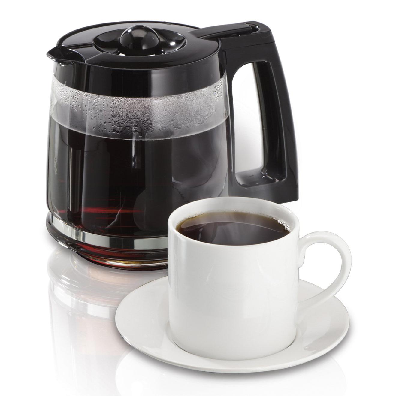 Hamilton Beach 2-Way FlexBrew 1-12 Cup K-Cup Ready Coffee ...