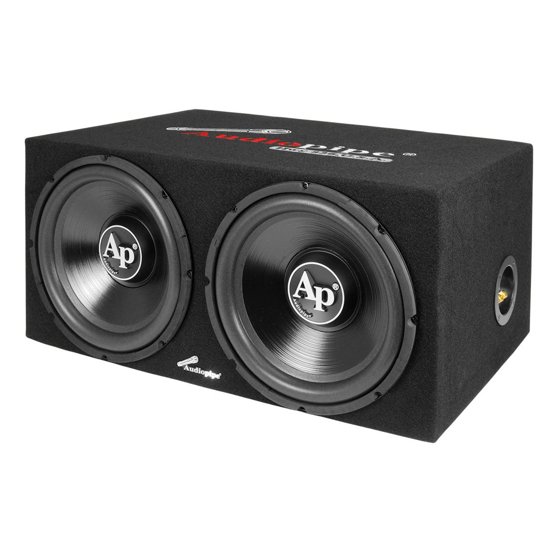 Audiopipe APSB-1299PP Loaded Dual 12 Subs Amp and Wire Kit Car Audio ...