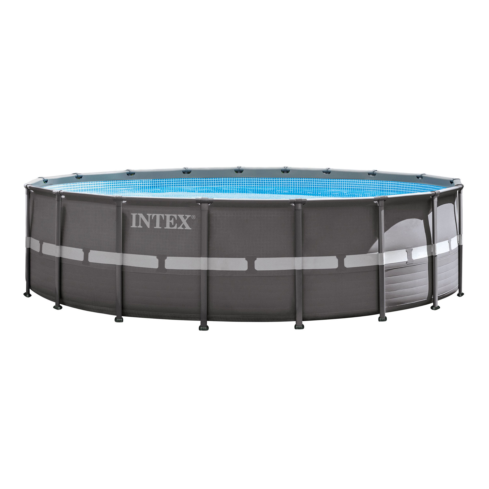 Intex 18 39 x 52 ultra frame pool set with filter pump for Billige pool sets