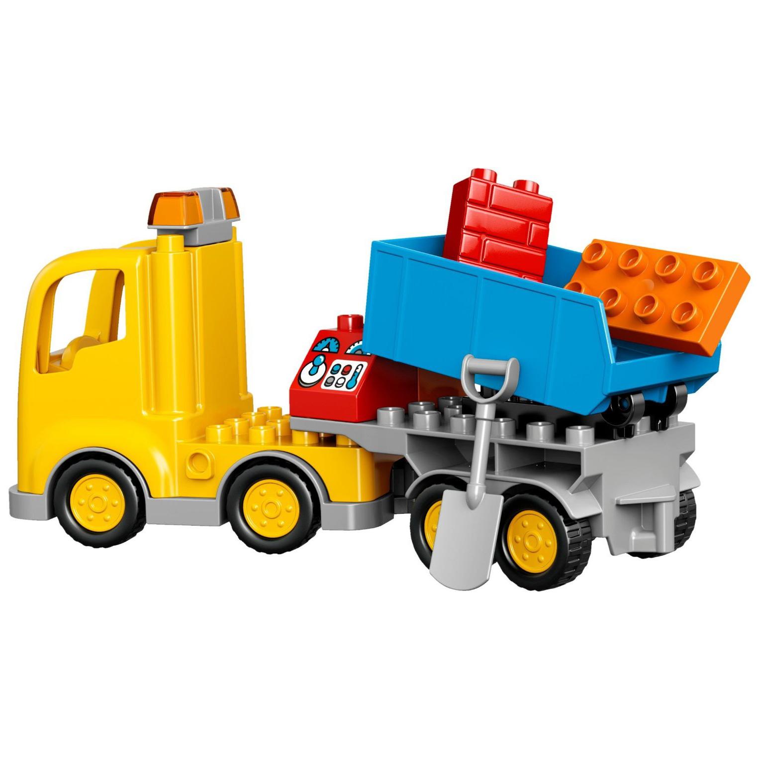 LEGO Duplo Big Construction Site Building Blocks for Ages 2 5 67