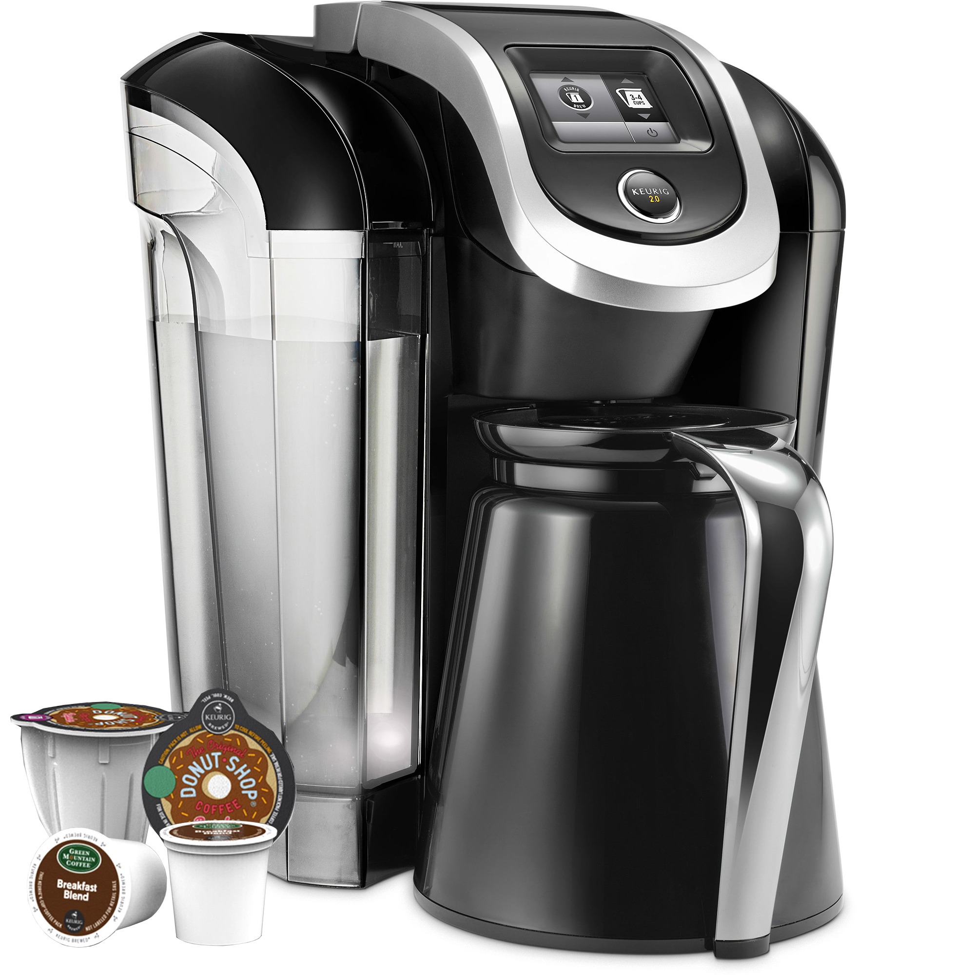 Keurig k300 2 0 coffee maker brewing system with carafe Coffee maker brands
