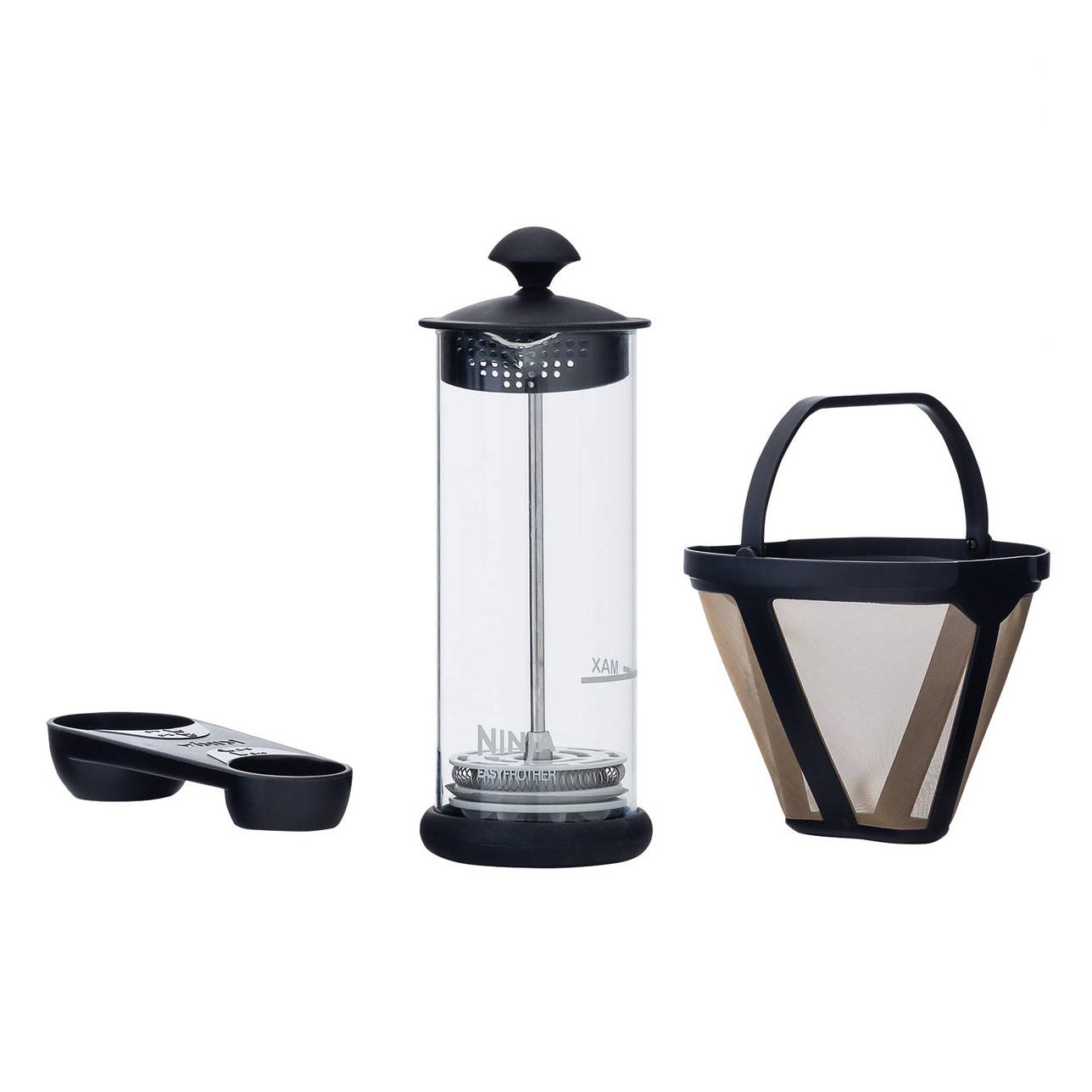 Ninja Coffee Bar with Glass Carafe and Auto-IQ 1 Touch Intelligence CF080W eBay