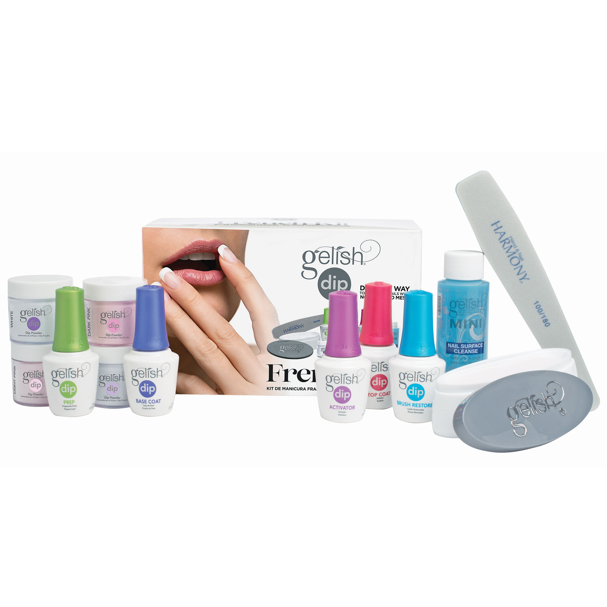 Nail Dip Powder Erfahrung: Gelish Soak Off French Tip Acrylic Powder Nail Polish Dip