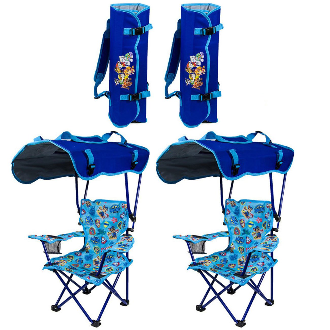 Superb Details About Kelsyus Kids Paw Patrol Portable Folding Kids Canopy Lounge Chair 2 Pack Pdpeps Interior Chair Design Pdpepsorg