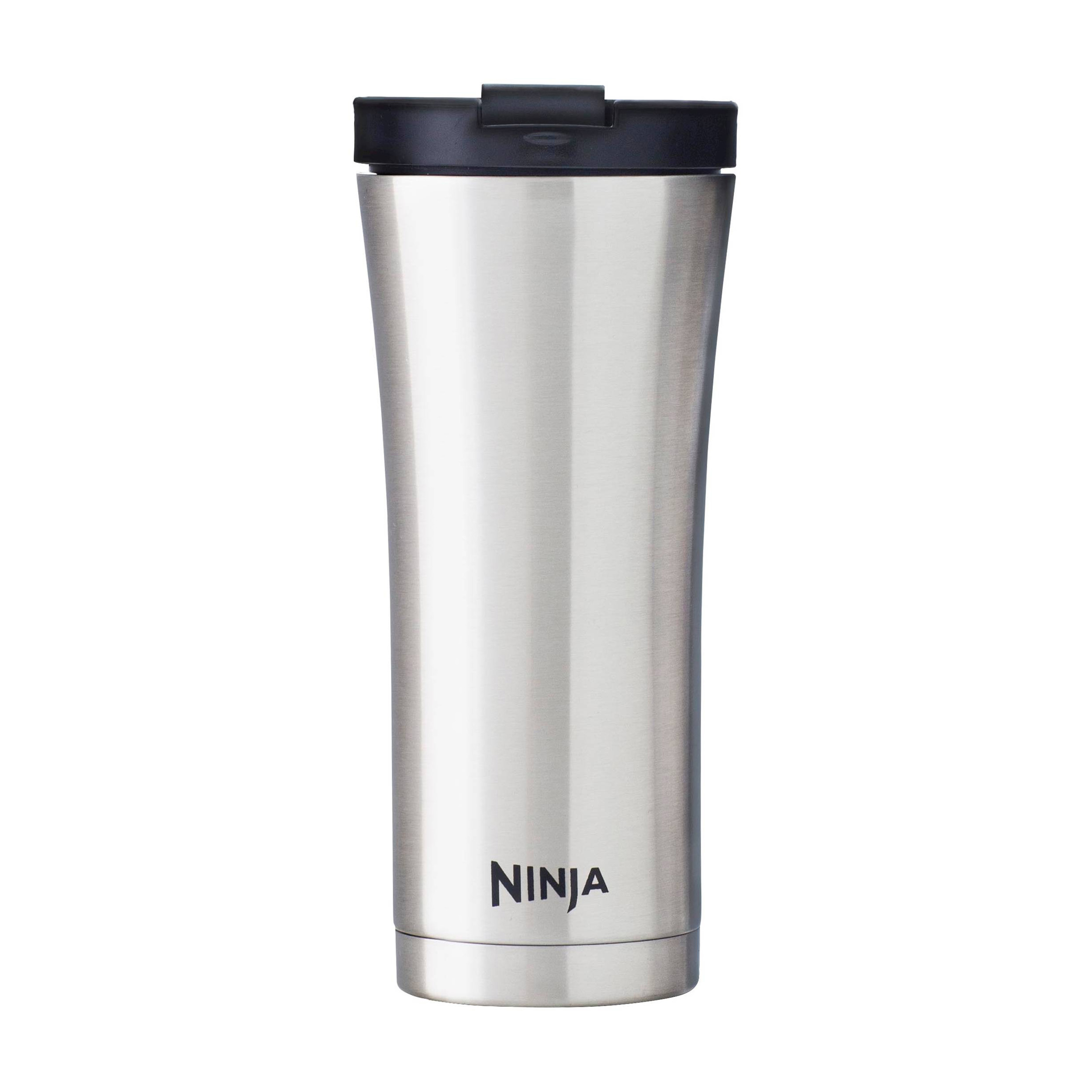 ninja 16 oz stainless steel double walled hot cold coffee travel mug 2 pack ebay. Black Bedroom Furniture Sets. Home Design Ideas