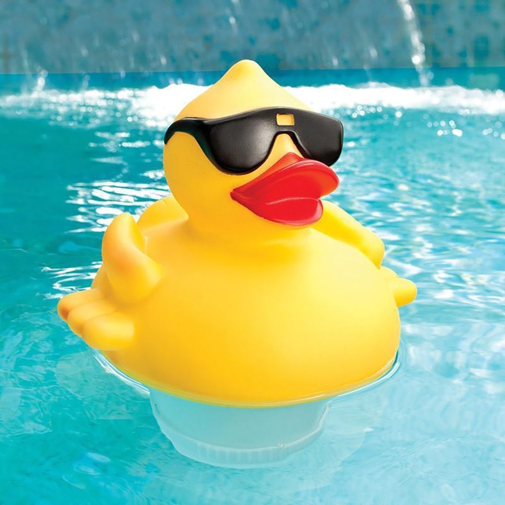 Game Solar Led Light Up Rubber Duck 3 Inch Tabs Swimming