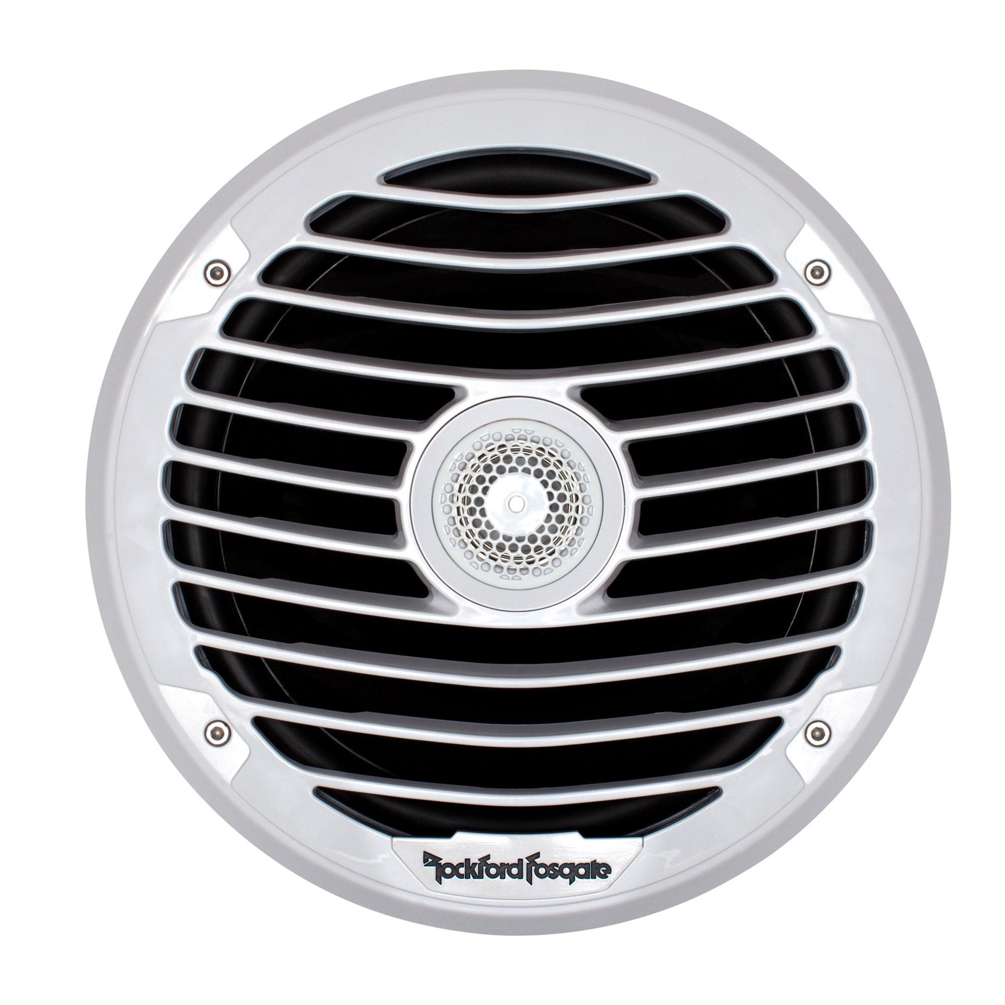 Rockford Fosgate Punch Marine Pm282x 8 Inch 200w 2 Way Boat Coaxial Hd Speakers