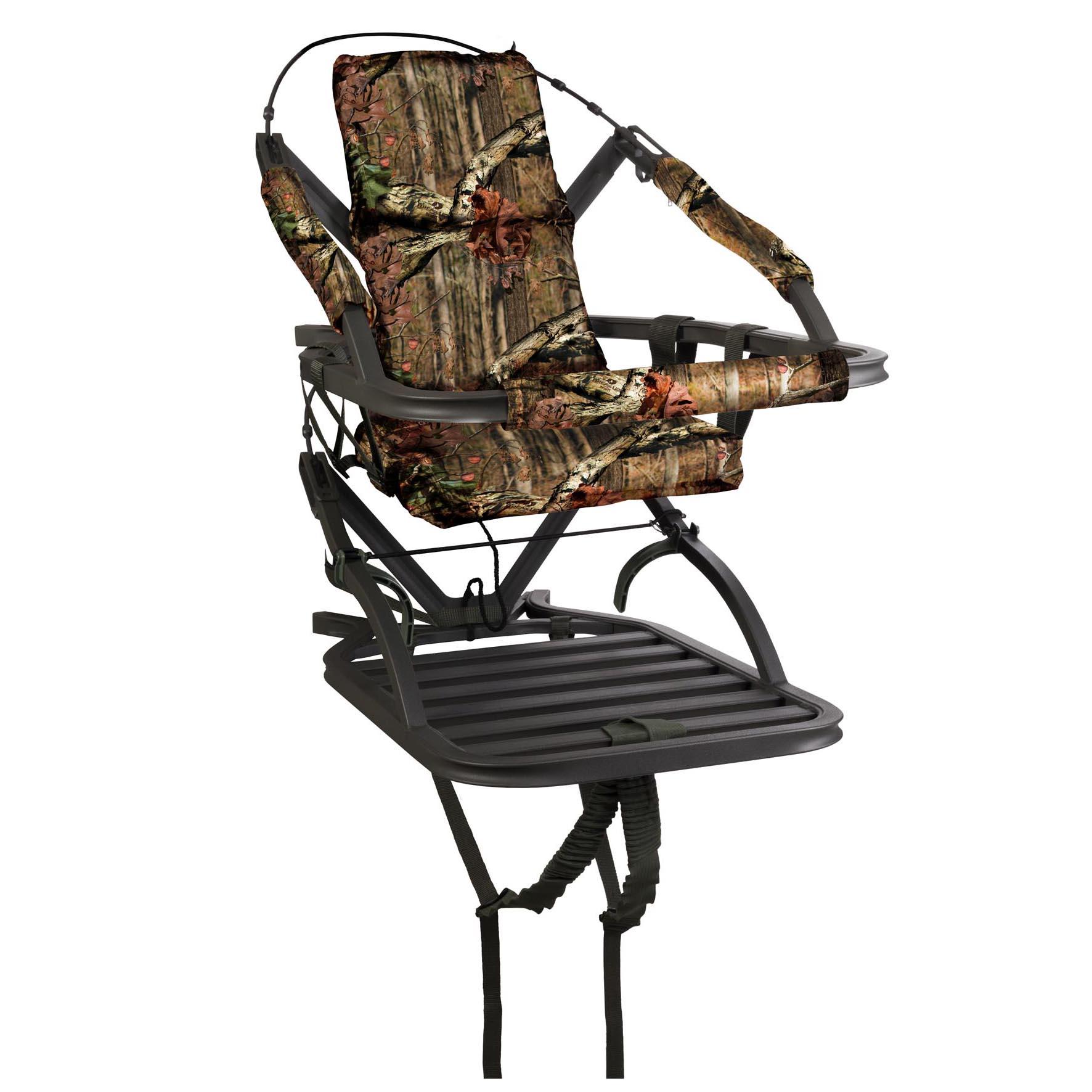 Bow hunting chair - Summit Titan Sd Self Climbing Portable Treestand Bow Rifle Deer Hunting 81118