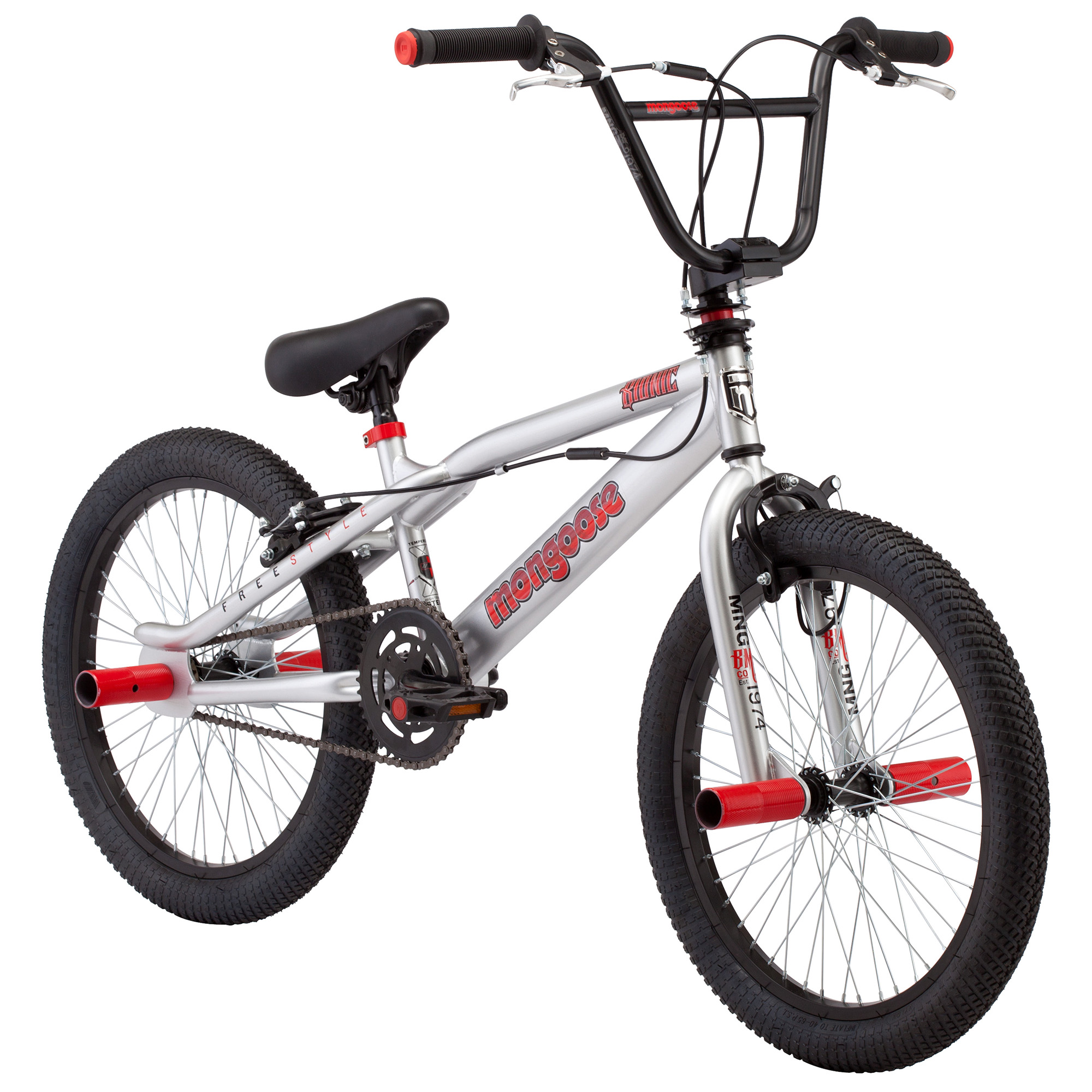 "Mongoose 20"" Bionic Lightweight BMX Freestyle Frame Youth ...