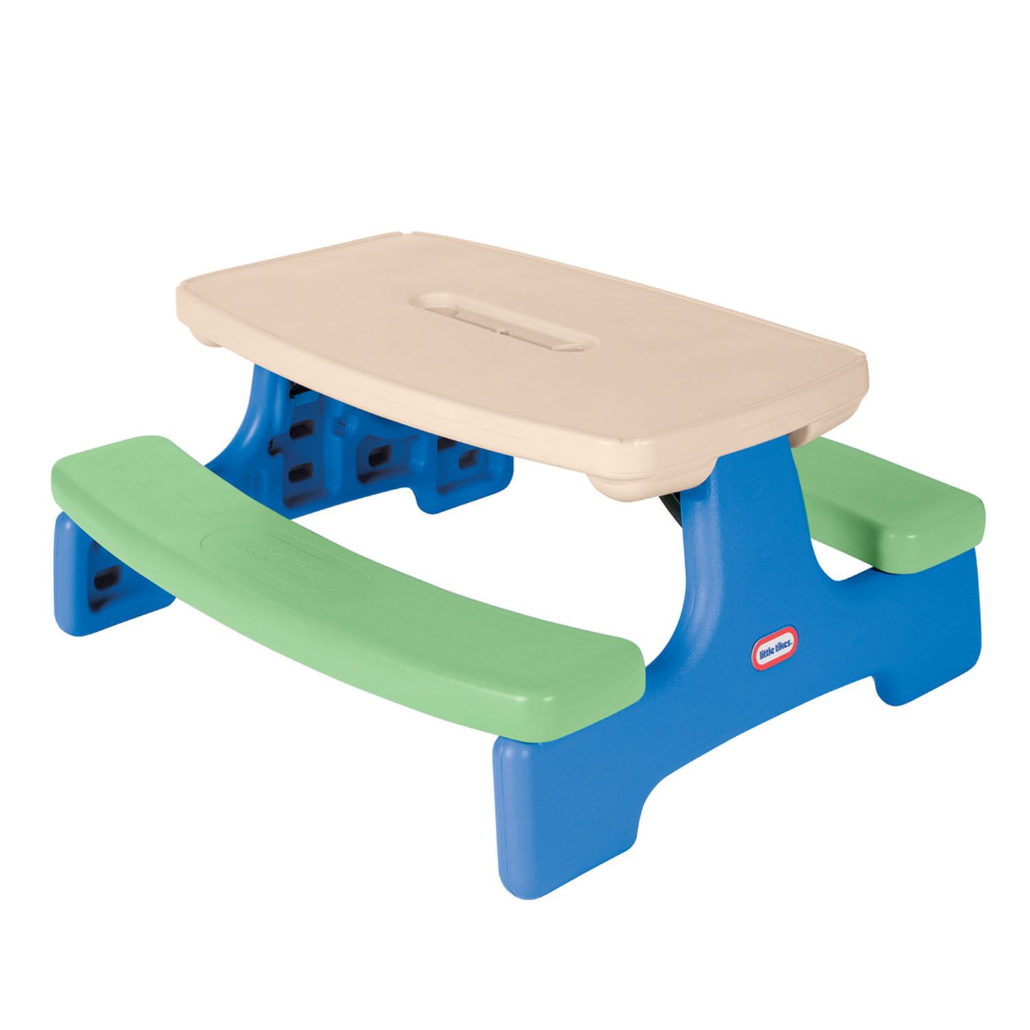 Little Tikes Children Kids Outdoor Easy Plastic Picnic Table Play Bench