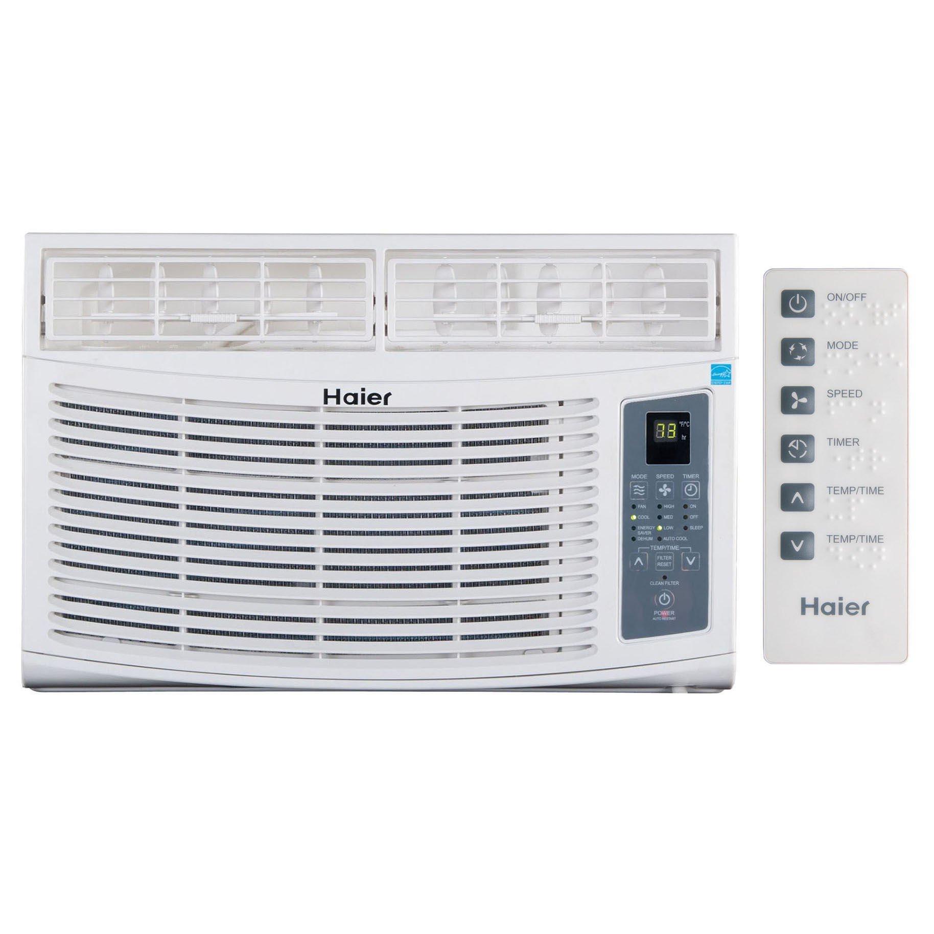 haier ac unit. haier esa406n 6,000 btu window air conditioner ac unit for 150-250 square feet ac 1