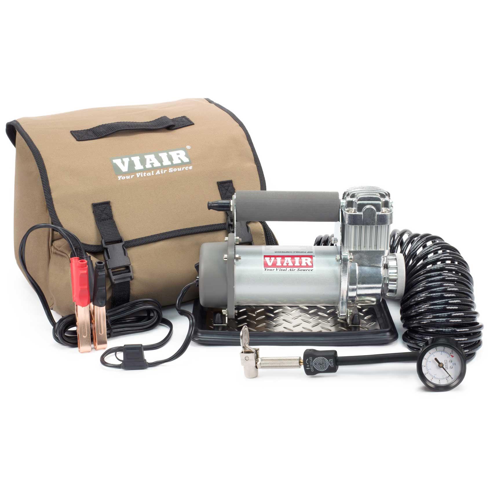 Viair 400p Portable 12v 33 Duty 150 Psi Compressor Kit