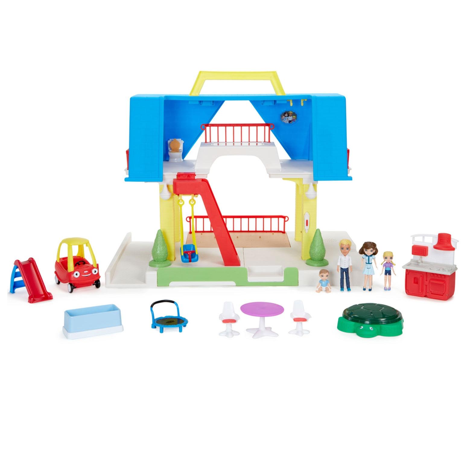 Little Tikes Kids Children Tikes Place Play Dollhouse w/ Family ...