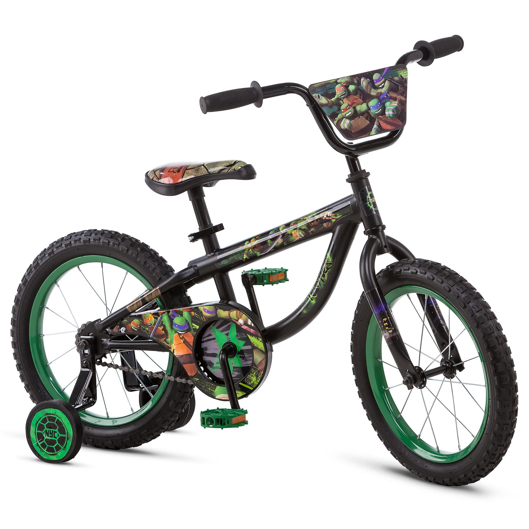 nickelodeon teenage mutant ninja turtles tmnt kids bicycle w