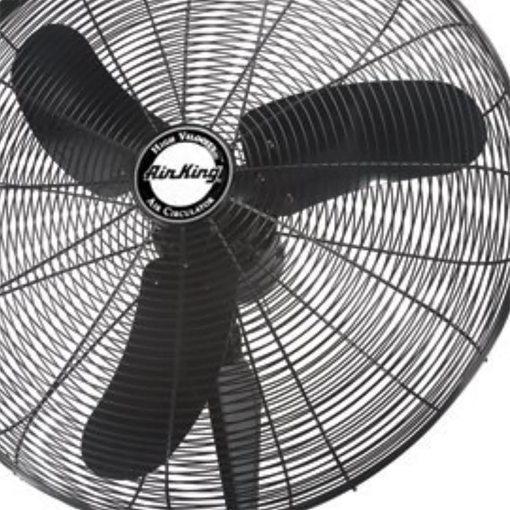 Air King Oscillating Fan : Air king industrial grade speed inch oscillating wall