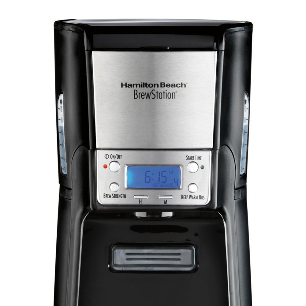 Coffee Maker Without Auto Shut Off : Hamilton Beach BrewStation Summit 12 Cup Programmable Coffee Maker 48464