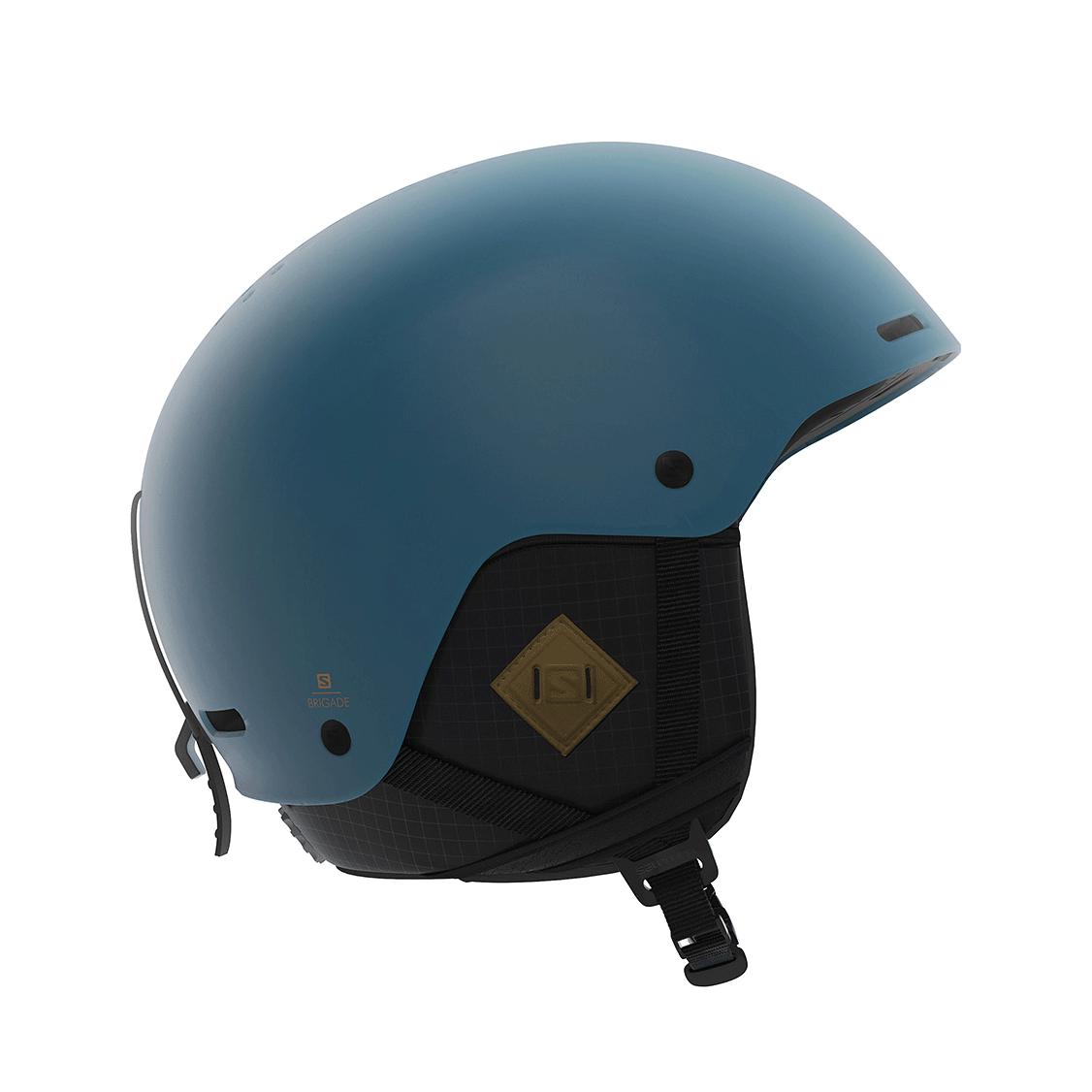 3c039f782e86 Salomon BRIGADE+ Men's Blue Adjustable Freeride Ski Snowboard Helmet ...