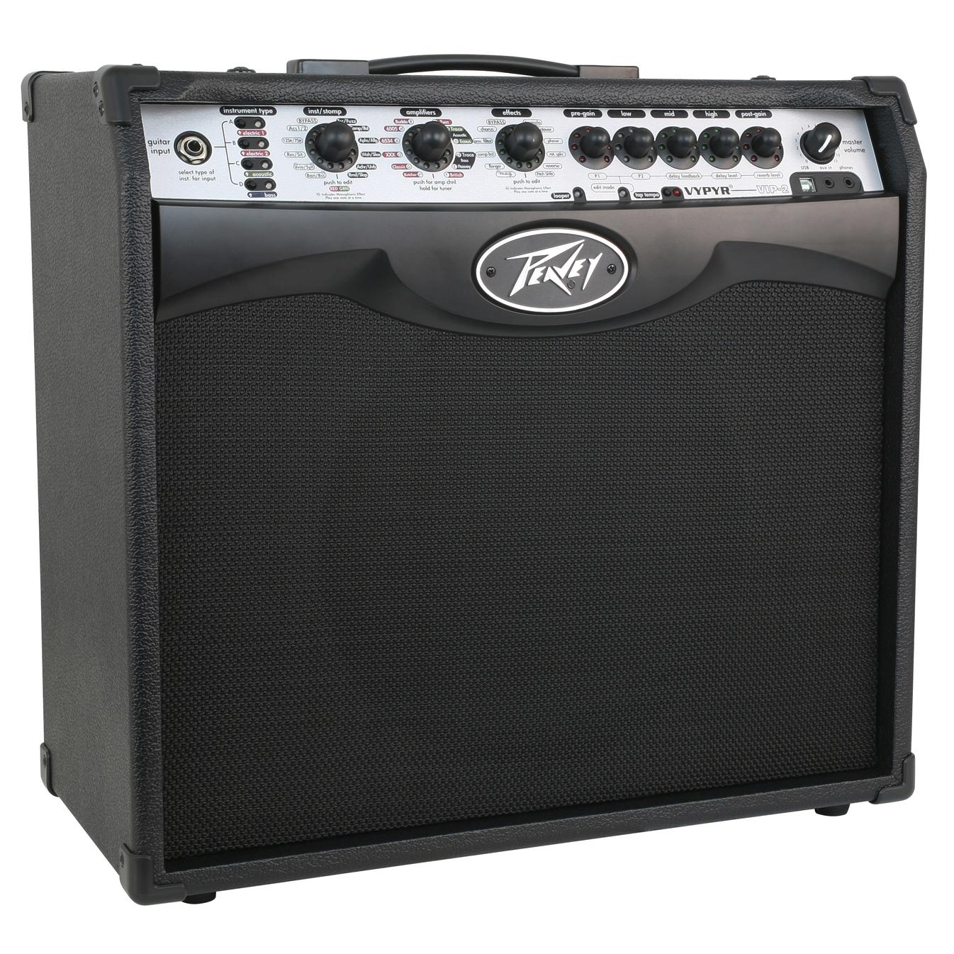 peavey vypyr vip 2 modeling instrument guitar bass 40 watt 12 amplifier amp ebay. Black Bedroom Furniture Sets. Home Design Ideas