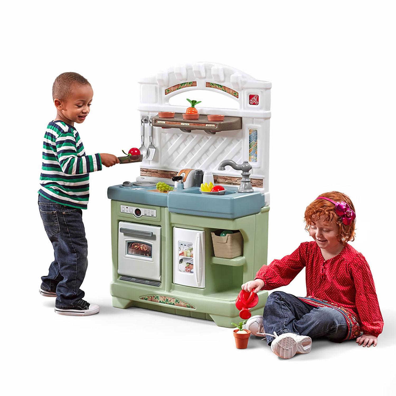 Step2 Garden Fresh Kitchen Toddler and Kids Play Pretend Cooking ...