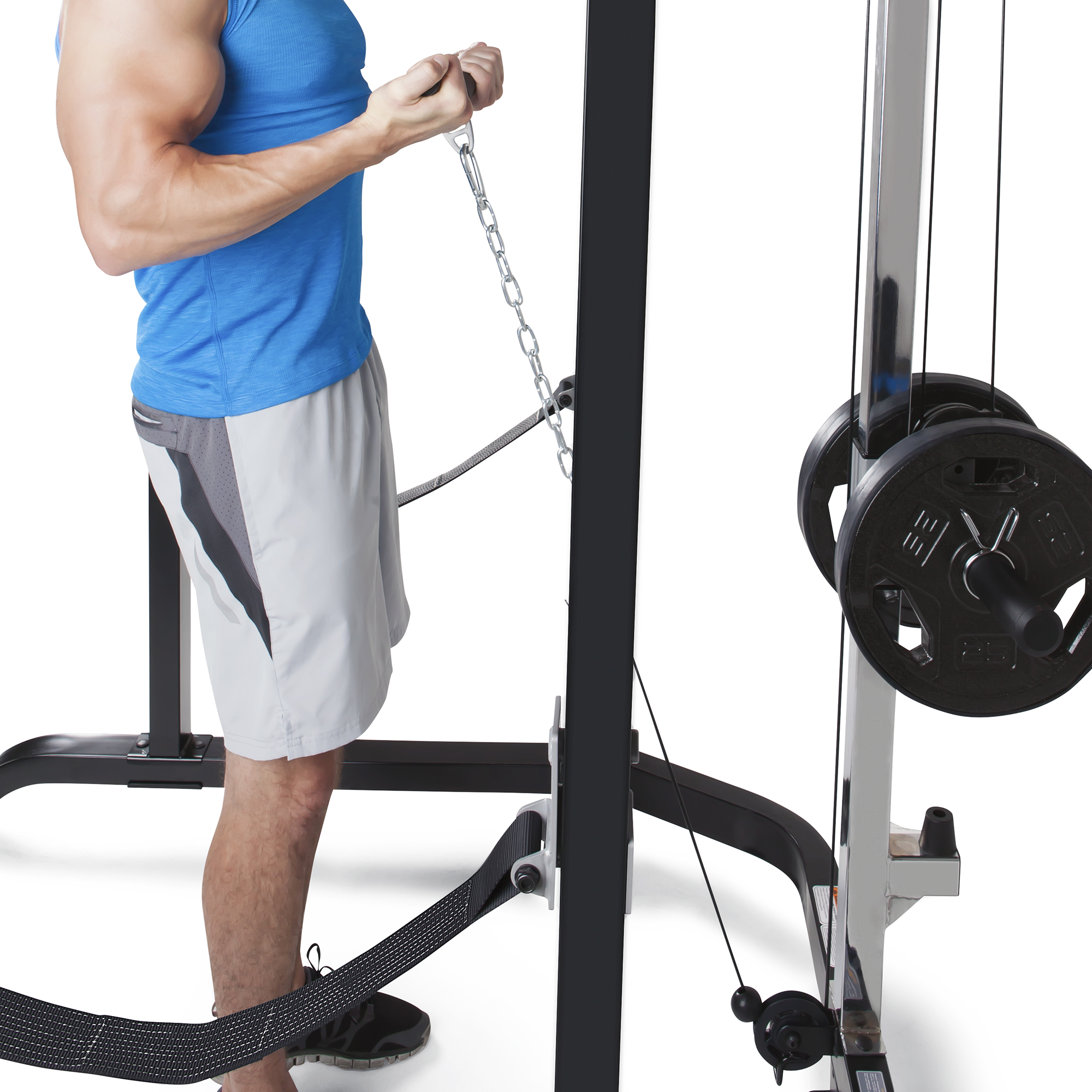 Marcy Pro Full Cage And Weight Bench Personal Home Gym