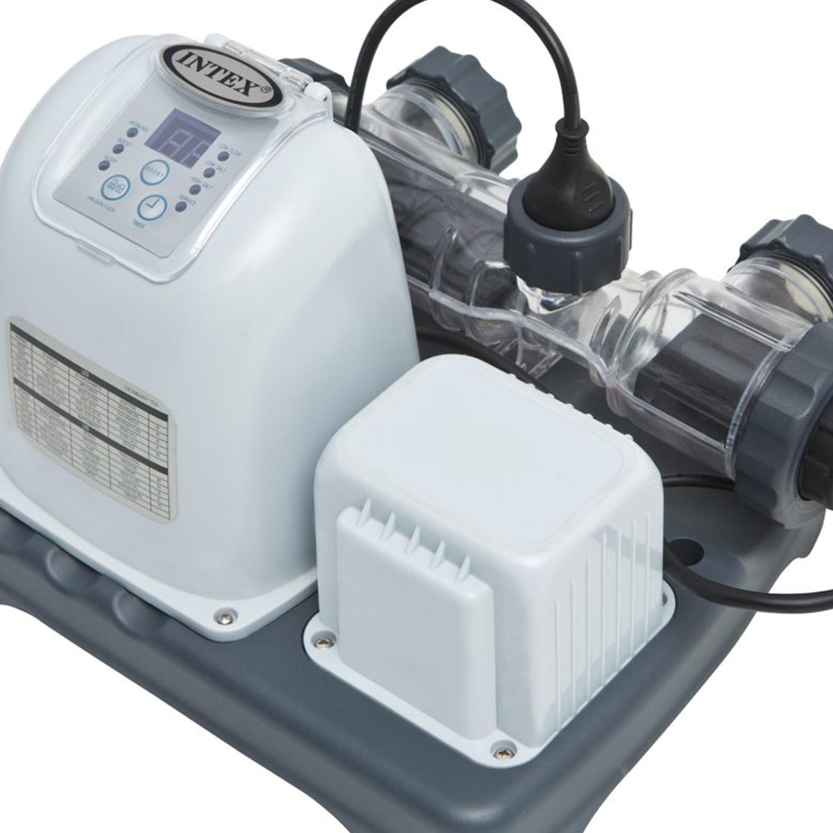 Intex Krystal Clear Saltwater System Above Ground Pool Chlorinator 28669eg Ebay