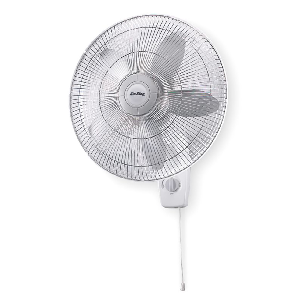 Quiet Wall Mount Fan : Air king quot blade speed hp quiet oscillating wall