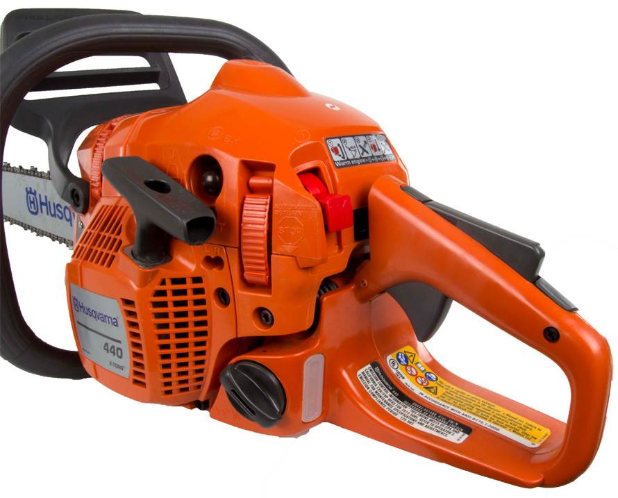 how to start a husqvarna 440 chainsaw
