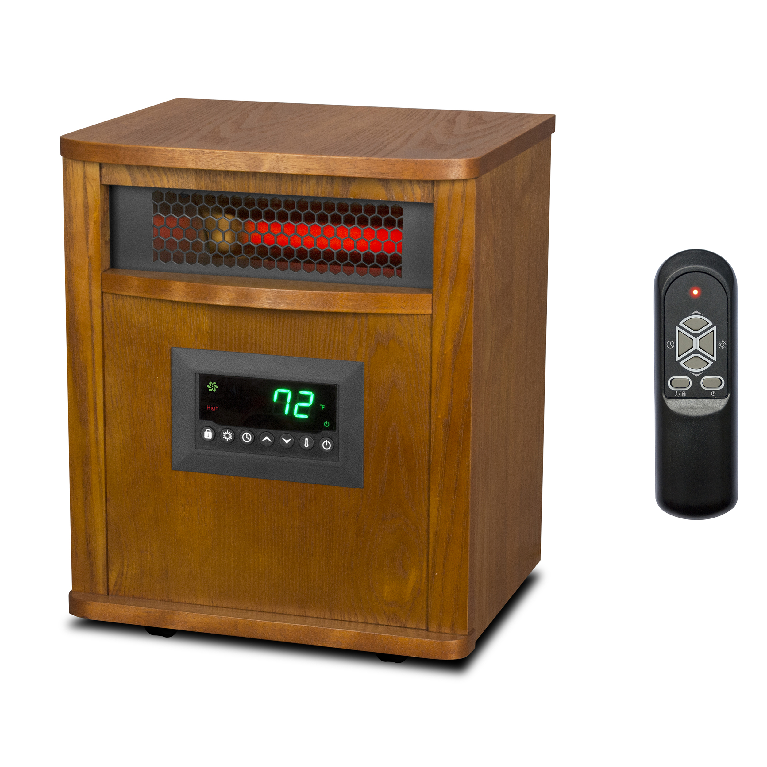 Lifesmart 6 Element 1500 Watt Portable Infrared Quartz Electric Space Heater. Lifesmart 6 Element 1500 Watt Portable Infrared Quartz Electric