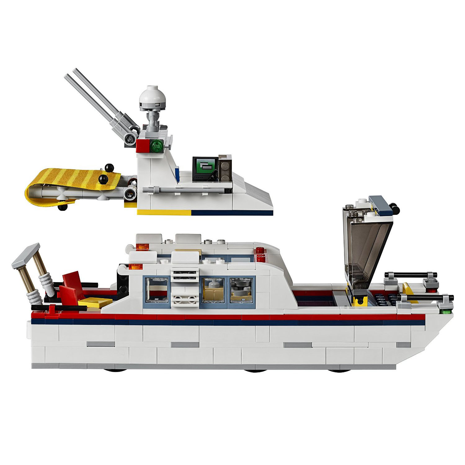Lego Creator Vacation Getaway 3 In 1 Camper Summer Home And Yacht 31052 Ebay