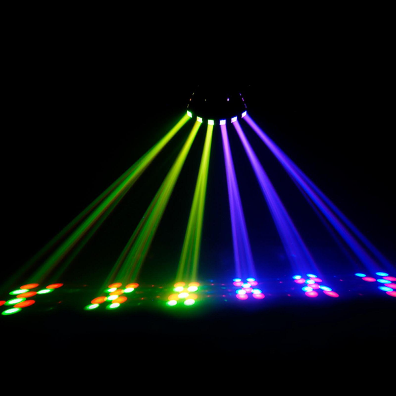 chauvet dj derby x dmx 512 multi colored led rgb strobe dj lighting effect ebay. Black Bedroom Furniture Sets. Home Design Ideas