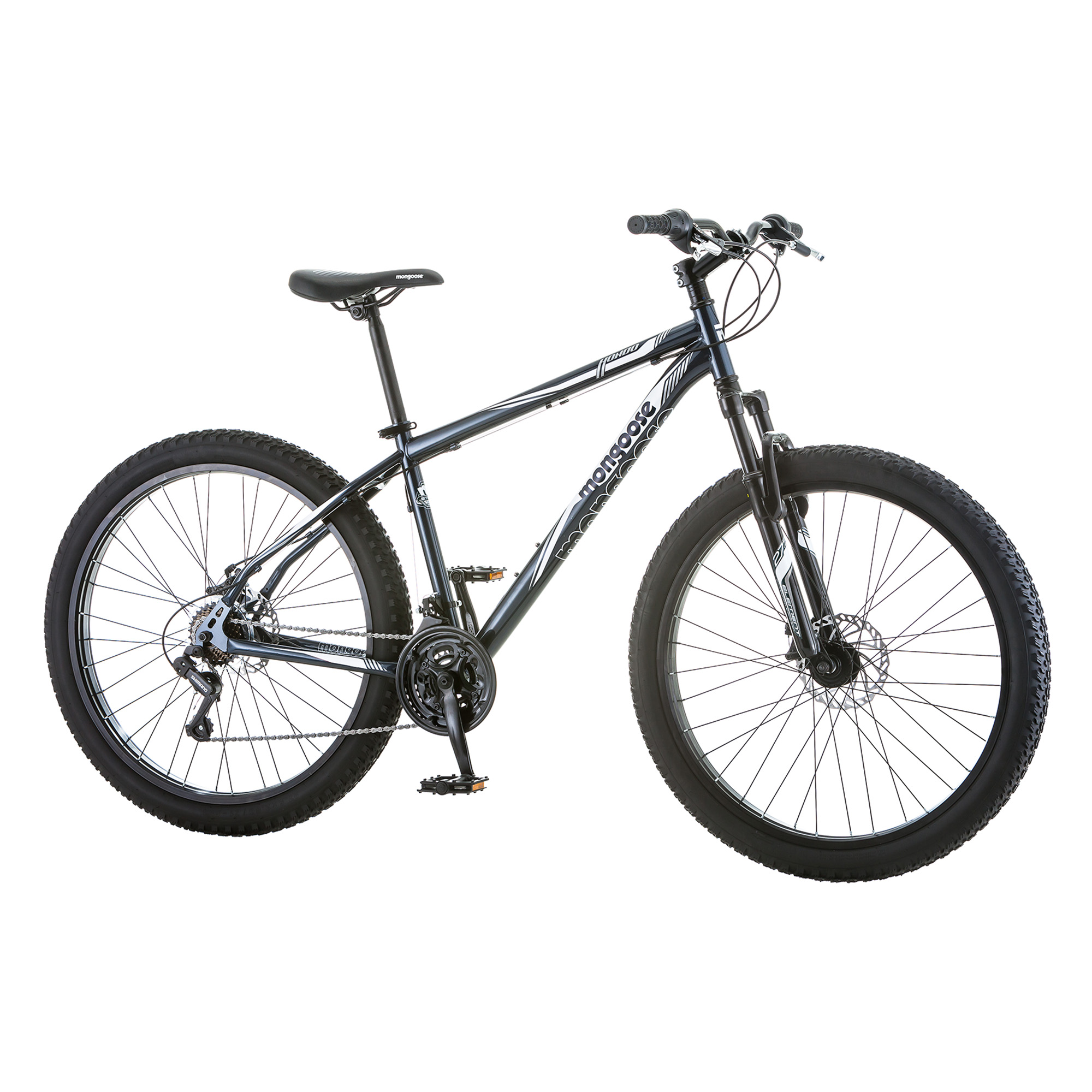 Buy 24 Mongoose Ledge 21 Boys Mountain Bike SilverRed at Walmartcom