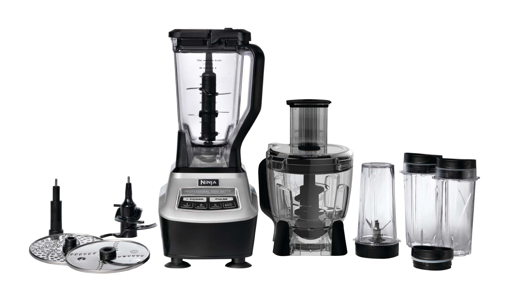 Ninja Mega Kitchen 1500w Food Processor Blender Package Certified