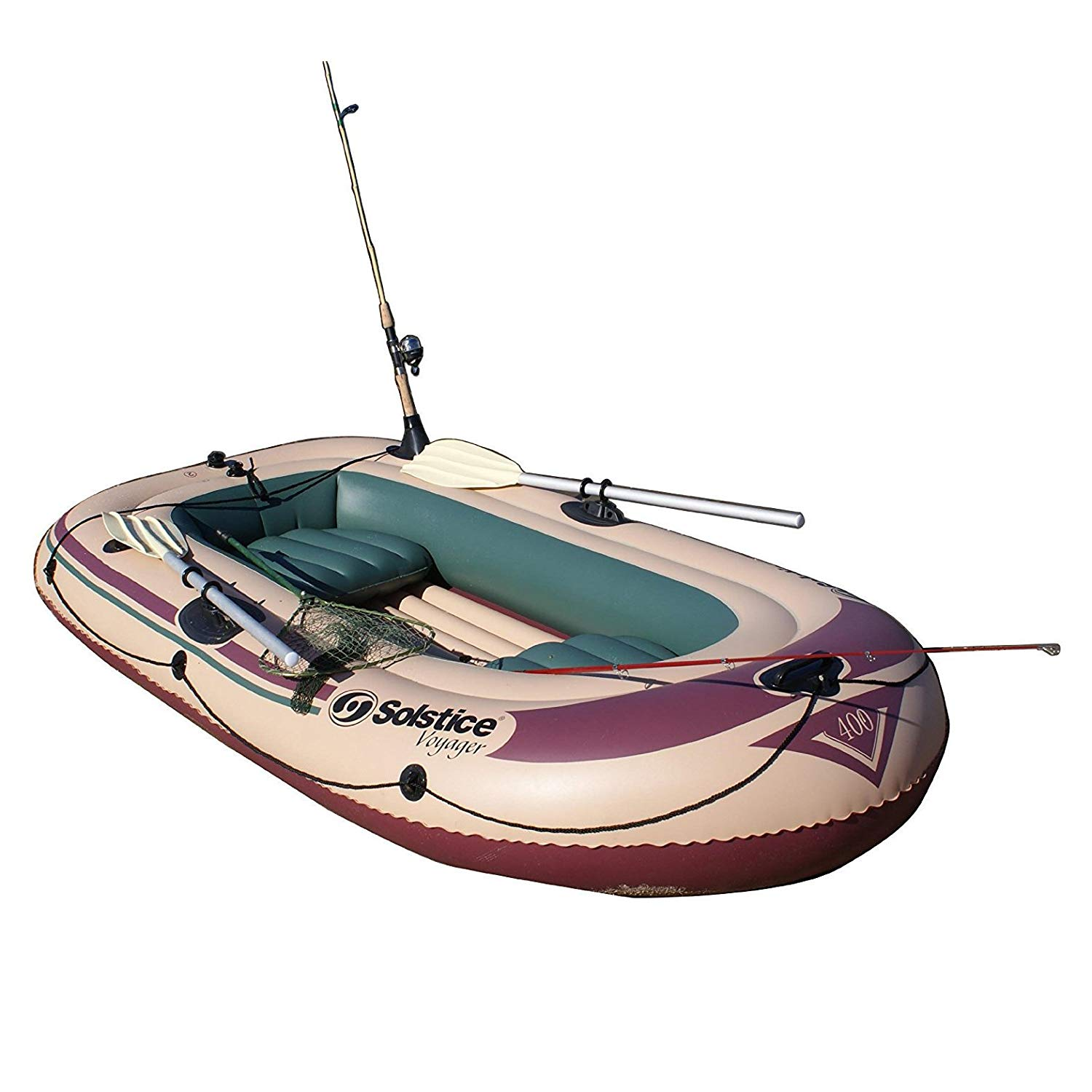 Solstice Swimline Voyager 30400 Inflatable 4 Person Fishing Leisure ...