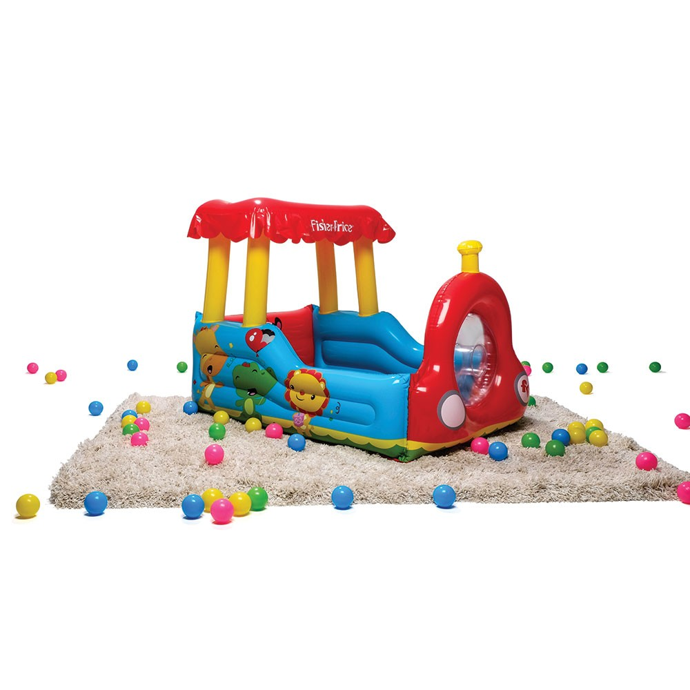 Fisher Price Colorful Train Ball Pit With Horn And 25 Play Balls ...