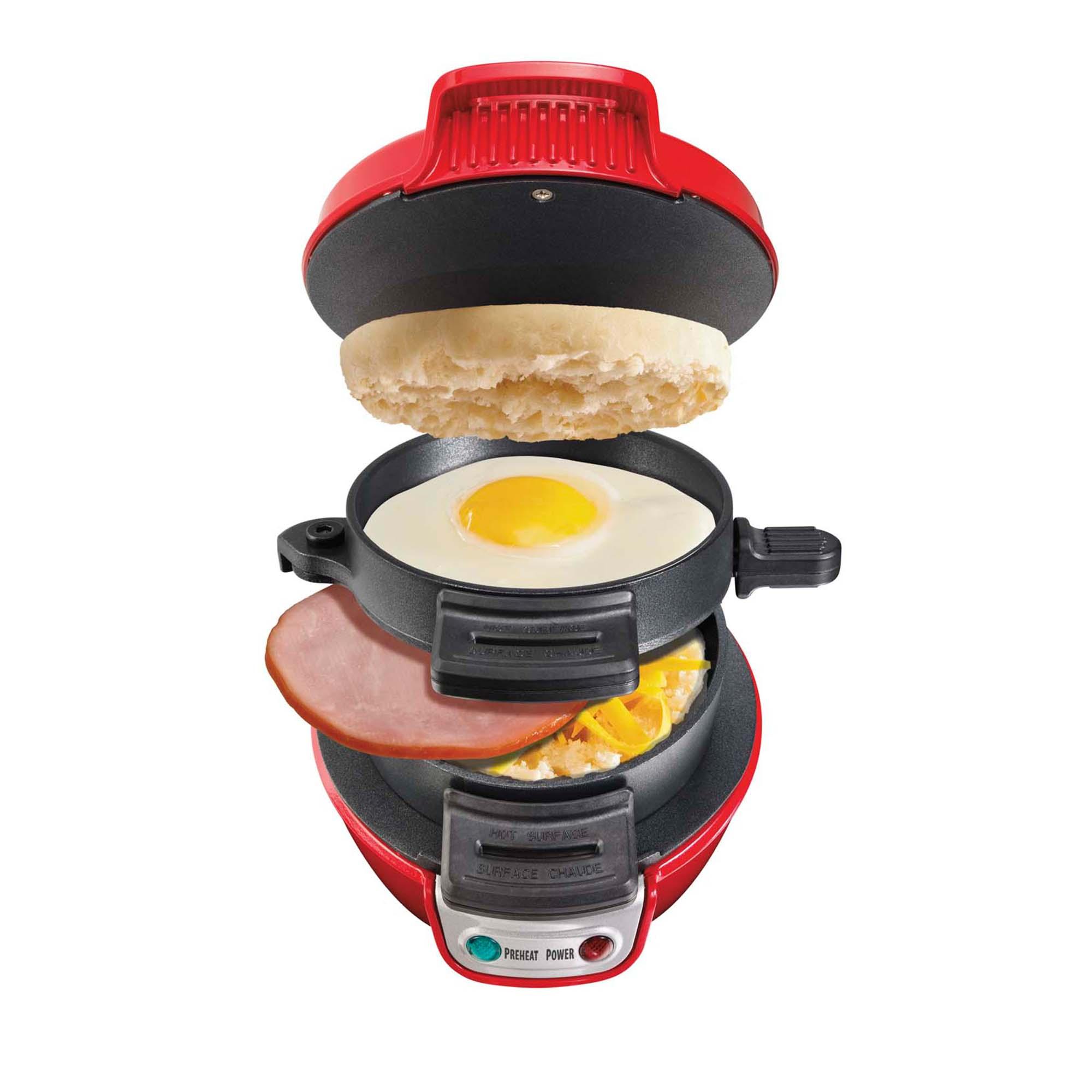 Hamilton Beach Breakfast Sandwich Maker Kitchen Counter