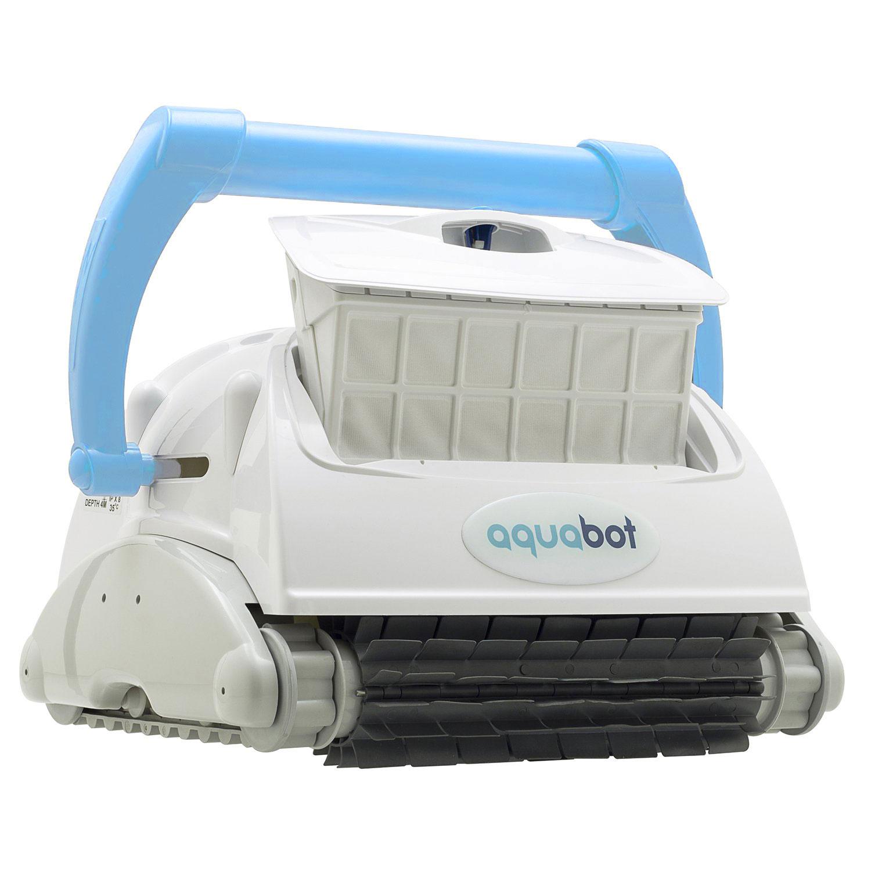 Aquabot Breeze Iq Wall Climbing Automatic In Ground Robotic Brush Pool Cleaner Ebay