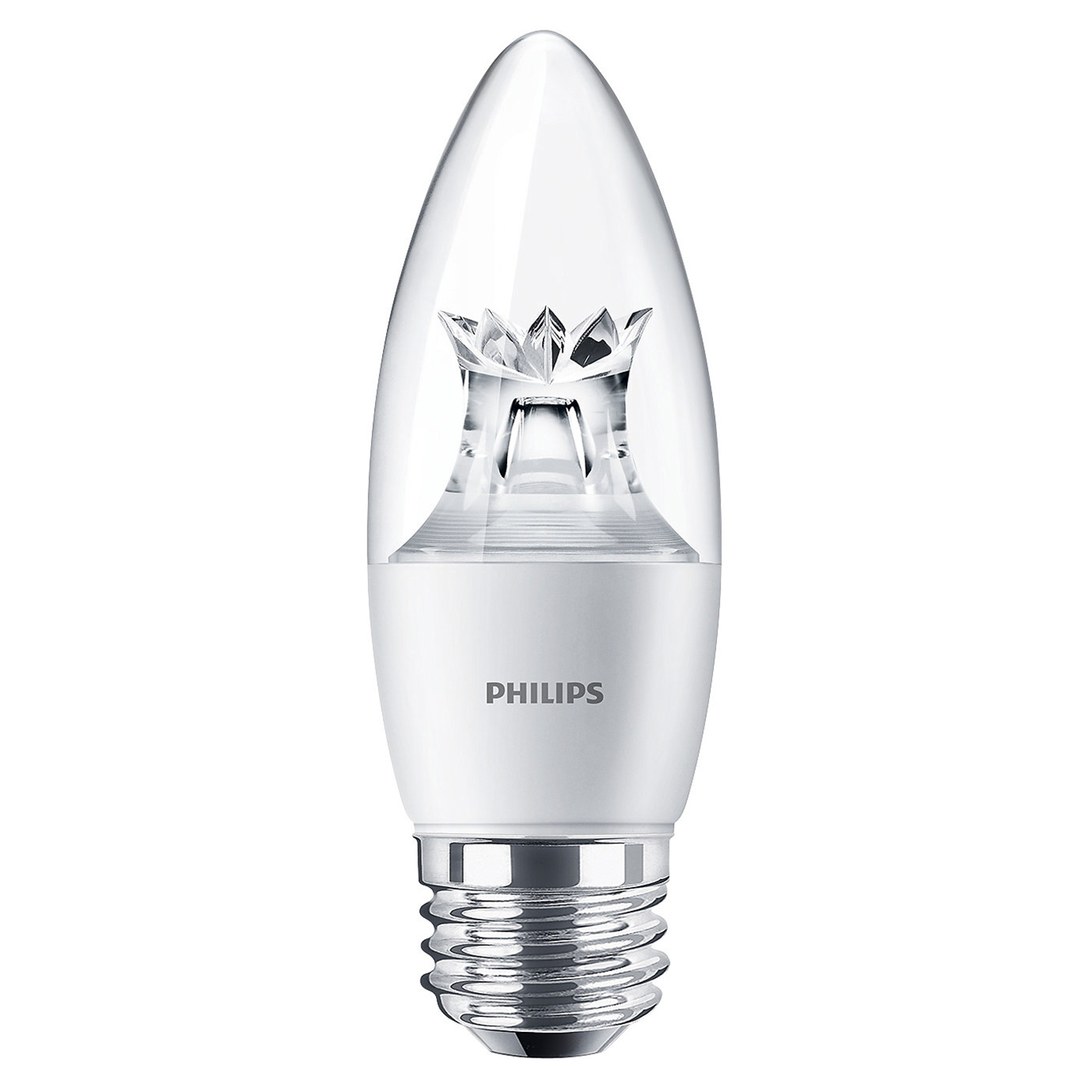 philips 457192 b12 e26 medium screw led dimmable warm glow light ebay. Black Bedroom Furniture Sets. Home Design Ideas
