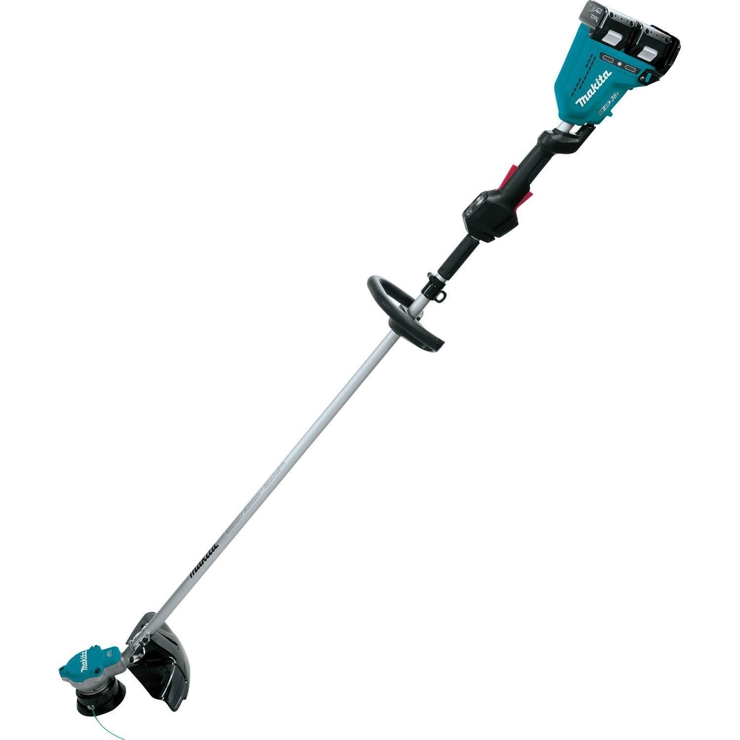 makita 18 volt x2 lxt lithium ion battery cordless electric string trimmer kit ebay. Black Bedroom Furniture Sets. Home Design Ideas