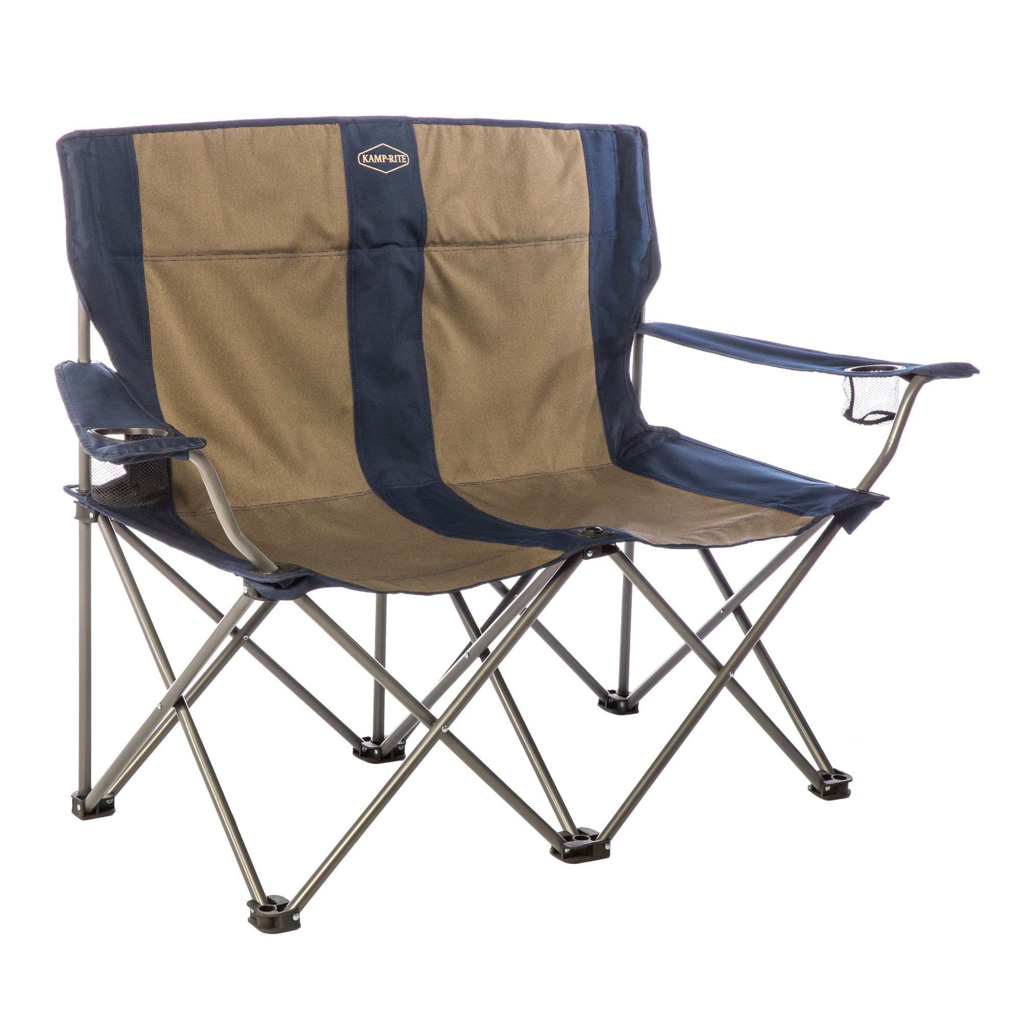 Details About Kamp Rite Cc352 2 Person Outdoor Tailgating Camping Double Folding Lawn Chair