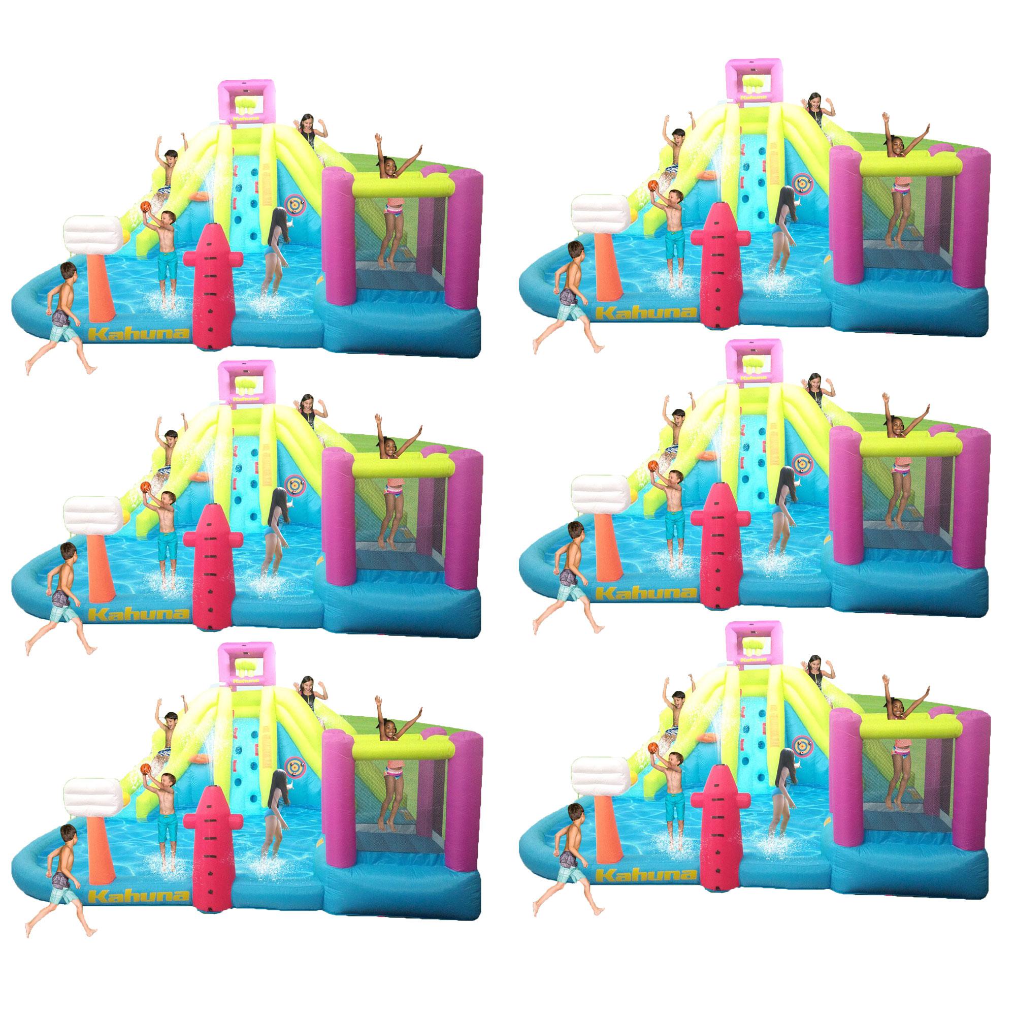 Spielzeug für draußen Intex Kids Backyard Fun Play Pool Volleyball Game Slide Inflatable Center Sum...