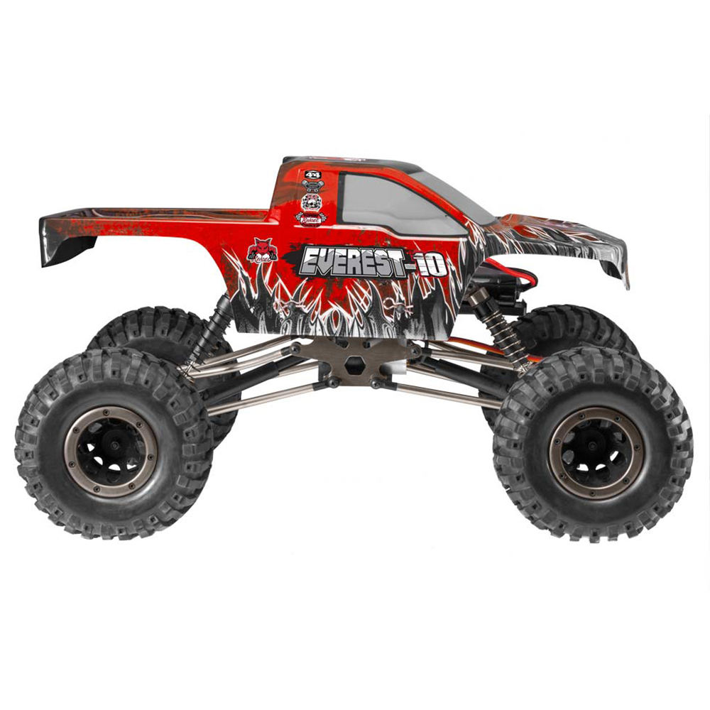 Redcat racing everest 10 1 10 scale rock crawler electric for Red wing ball bearing ac motor