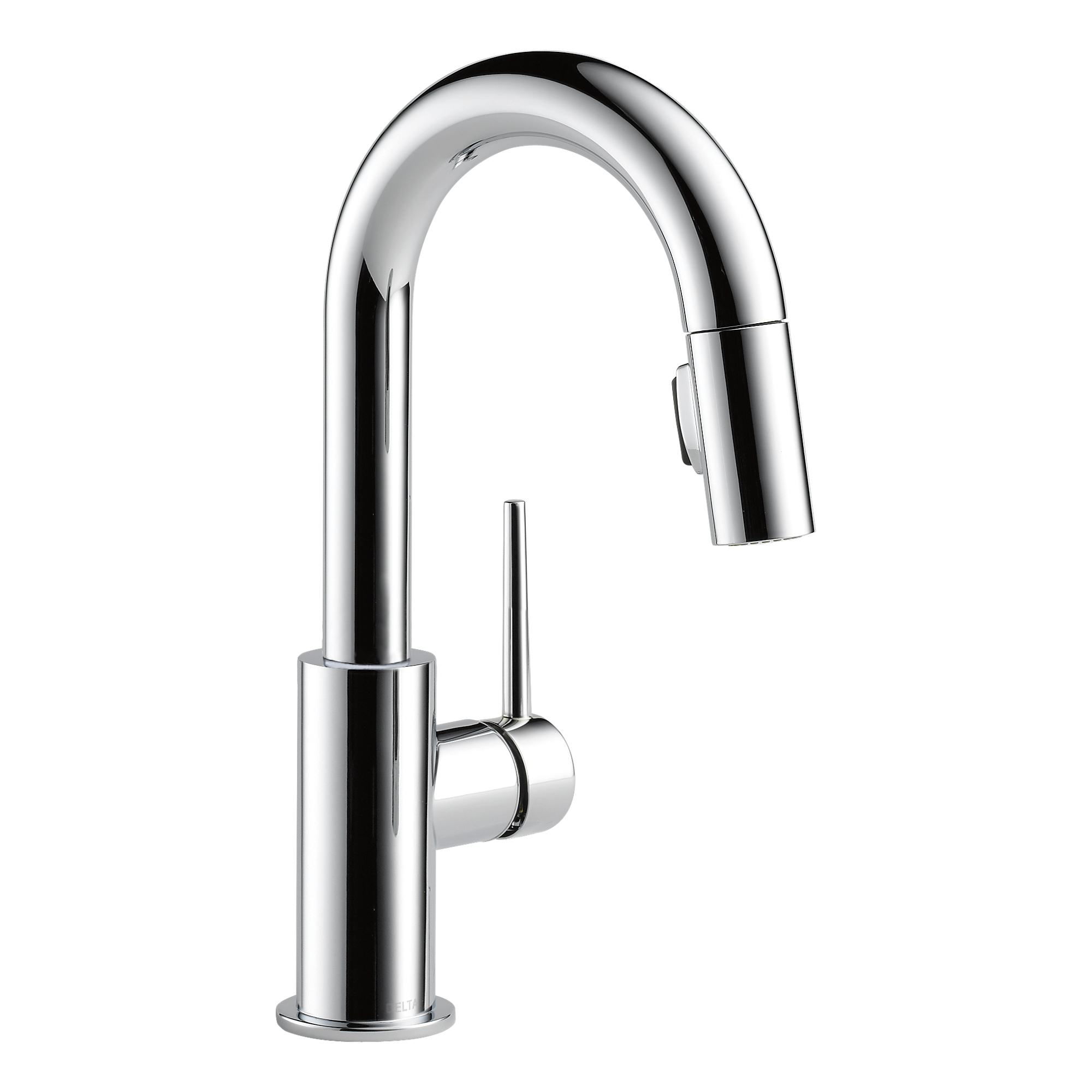 Delta Faucets Single Handle Trinsic Bar Prep Sink Faucet