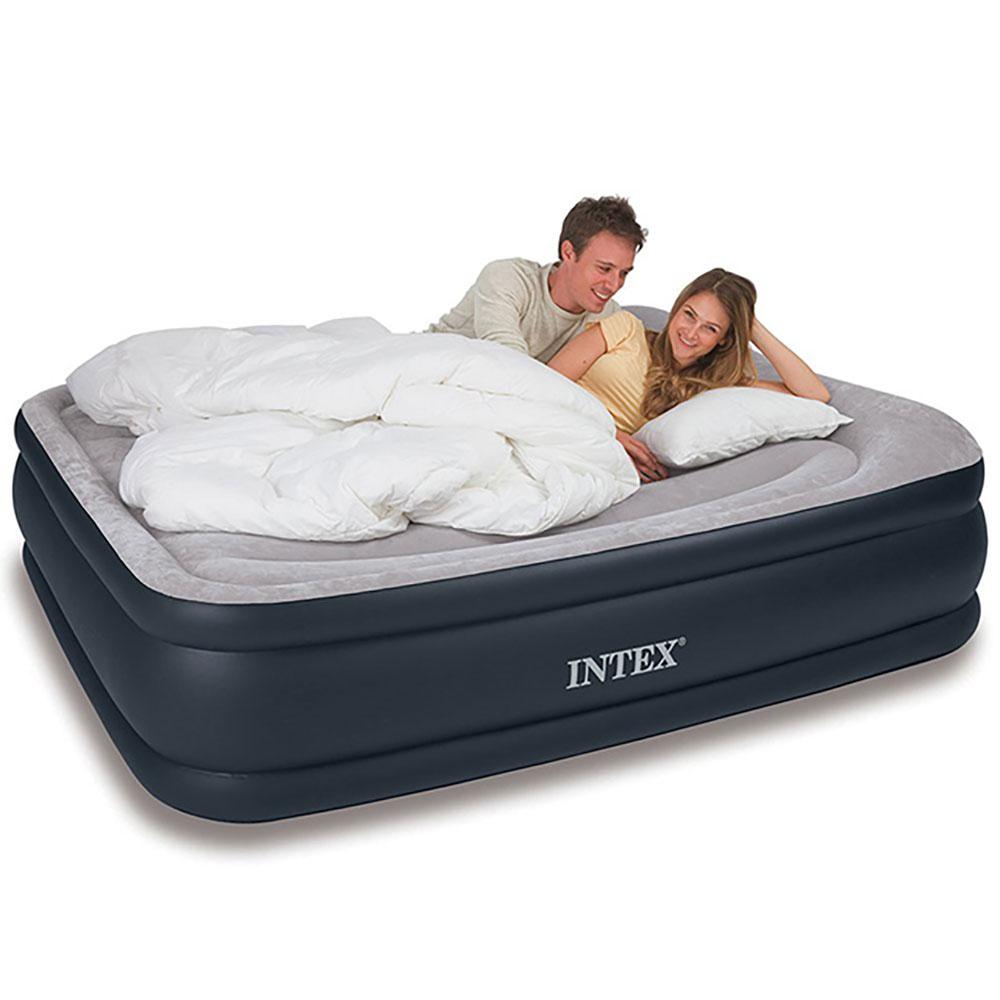 Intex Durabeam Deluxe Pillow Rest Inflatable Air Mattress ...
