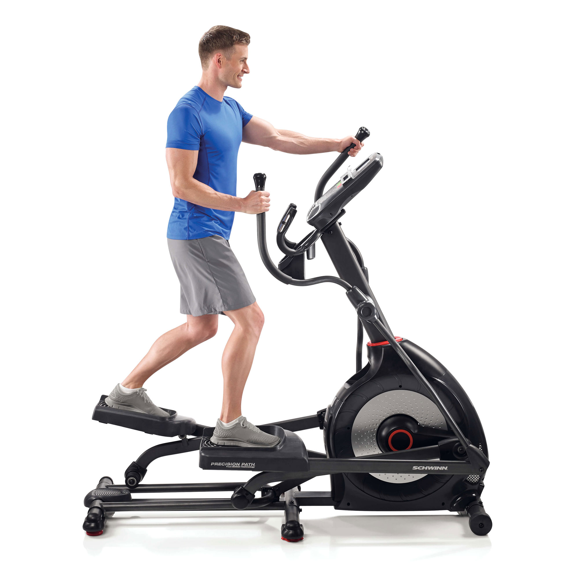 3ccc8474f72 Schwinn Fitness 470 Home Workout Stationary Elliptical Trainer Exercise  Machine