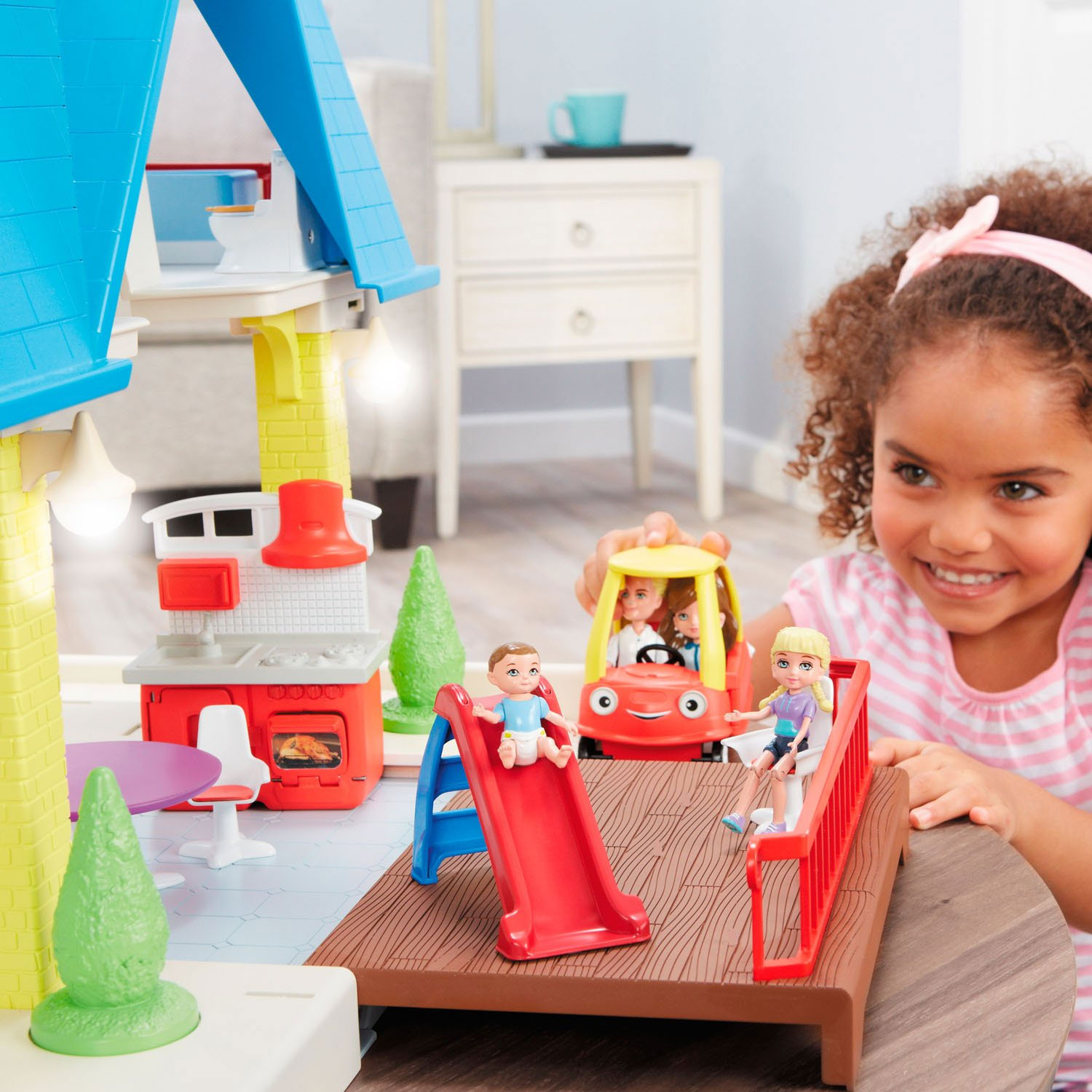 Little Tikes Kids Children Tikes Place Play Dollhouse W