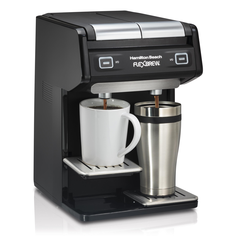 Hamilton Beach Dual Flexbrew Single Serve Pods Grounds Coffee Maker