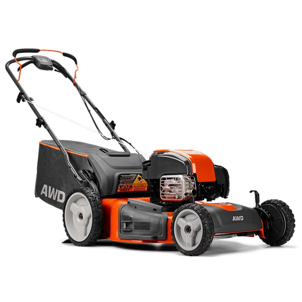 Details About Husqvarna 22 Inch Self Propelled Gas Lawn Mower With Briggs Stratton Engine