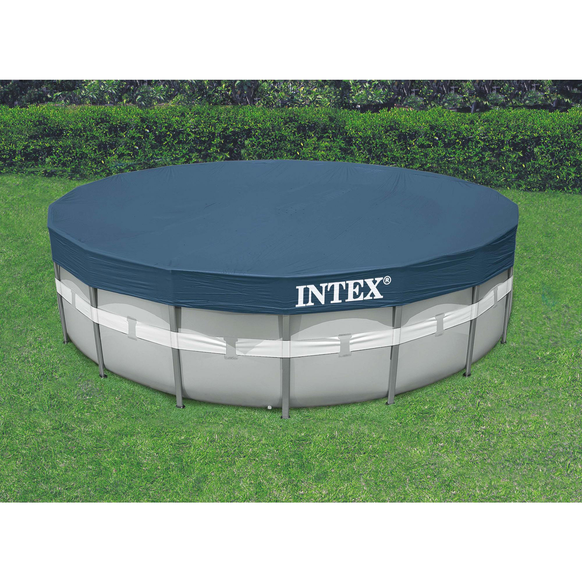 Intex 20 39 X 48 Ultra Frame Above Ground Swimming Pool Set W Pump And Ladder Ebay