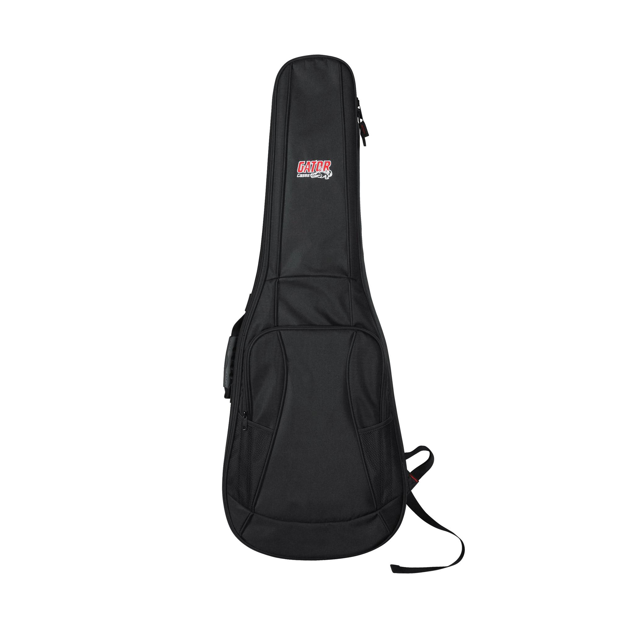 Gator Cases Gb 4g Electric Series Guitar Gig Bag With String Diagram Ebay Straps Black
