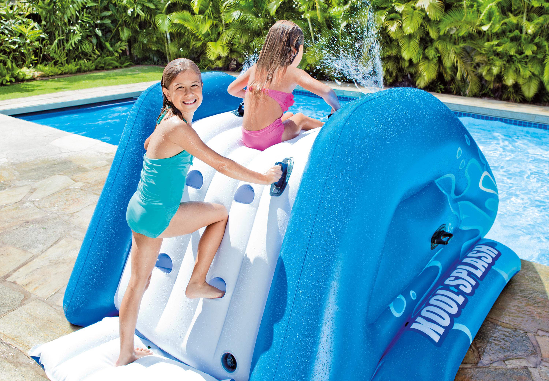 Intex Kool Splash Inflatable Play Center Swimming Pool Water Slide Accessory Ebay